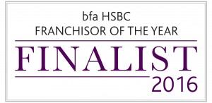 Franchisor of the Year 2016 Finalist Logo