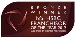 Franchisor Winner 2012