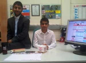 Arjindar and Balraj Dusanjh