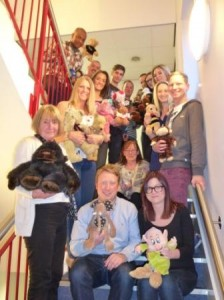 Franchisor Driver Hire staff for Children in Need 2013