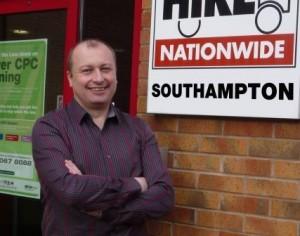 Ivan Carter, Driver Hire Southampton