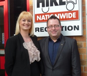 Steve and Karen Wright - Driver Hire Preston