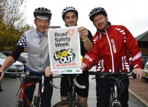 Driver Hire supporting Road Safety Week 2014