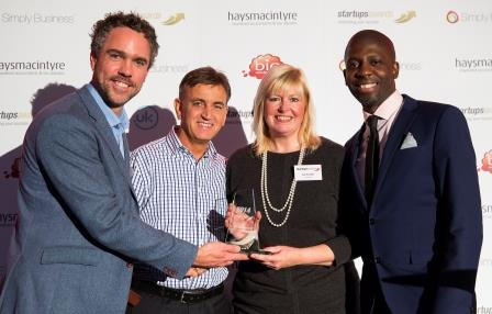 'New Franchisee of the Year' awards winners in Startups 2014 awards. Vance & Sue Parsons at Driver Hire Hereford and Worcester