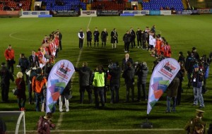 Driver Hire supports Truce football match