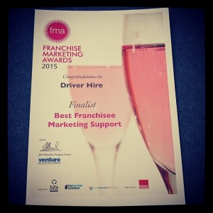 2015 Finalist Best Franchisee Marketing Support Award