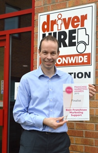 Richard Owen-Hughes, Driver Hire Group Marketing Director