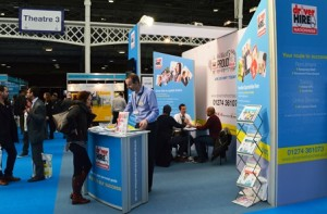 Driver Hire at Olympia Franchise Exhibition 2015
