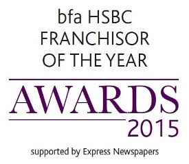 bfa HSBC Franchisor of the Year awards 2015