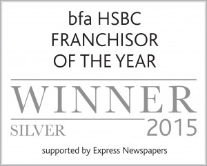 bfa Franchisor of the Year awards 2015 Silver logo