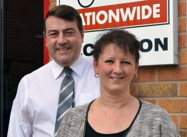 Stuart and Helen Ward new Driver Hire Franchisees open new office in Barnsley