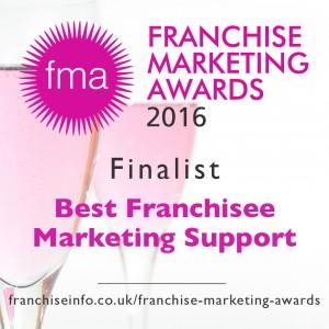 Franchise Marketing Awards 2016 finalist