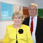 Jayne and Michael O'Flynn, new franchisees at Driver Hire Grimsby