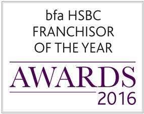 bfa HSBC Franchisor of the Year awards 2016