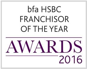 bfa HSBC Franchisor of the Year awards 2016