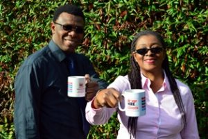 Ernest and Wola Akwenuke at Driver Hire Southend