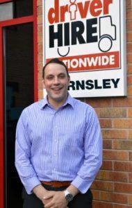 Matt Robinson Driver Hire Barnsley franchisee