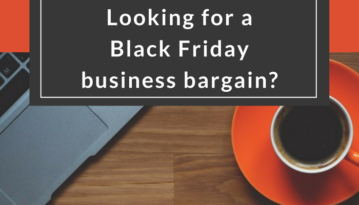 Black Friday business bargains?