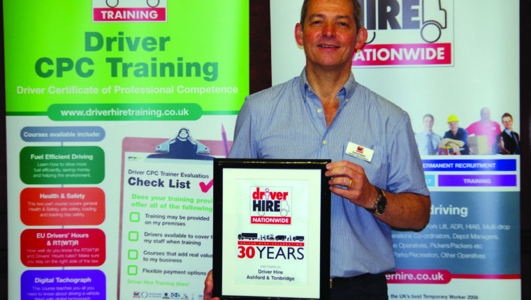 Andrew Padgett - Driver Hire franchisee Ashford and Canterbury