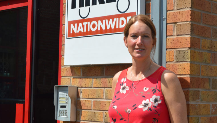 Kathy Wylie - franchisee at Driver Hire Derby