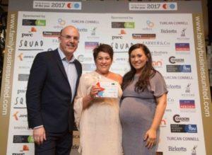 Diane and Danielle Maxwell - Driver Hire Belfast award winners