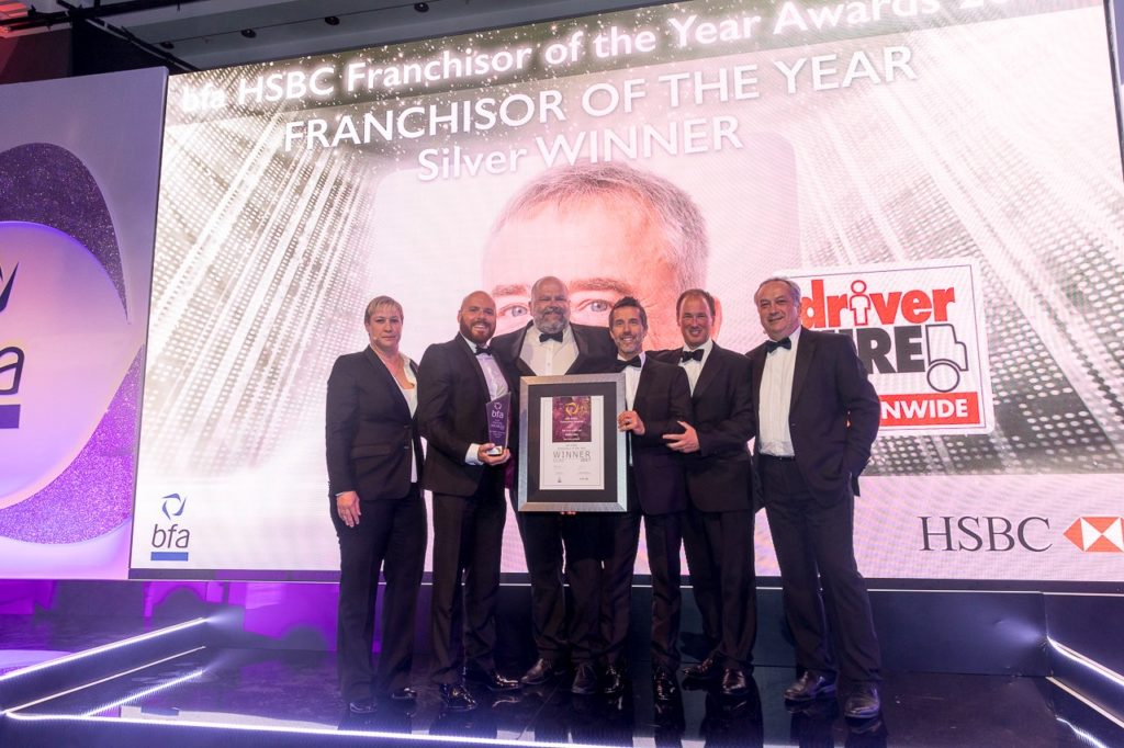 bfa HSBC Franchisor of the Year 2017 Silver Award Winners Driver Hire
