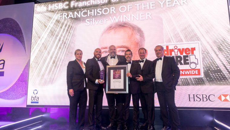 bfa HSBC Franchisor of the Year 2017 Silver Award Winners Driver Hire