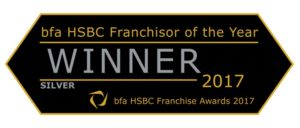 bfa HSBC Franchisor of the Year - Silver - Driver Hire