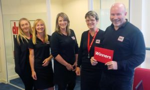 Tony Goacher and his winning team at Driver Hire Croydon