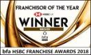 2018 bfa HSBC Franchisor of the Year (Bronze)