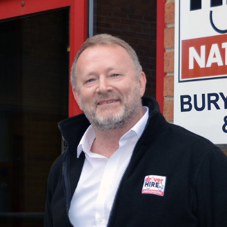 Stephen Hobbs, Driver Hire Bury St Edmunds & Ipswich Franchisee