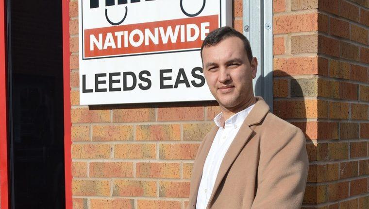Scott MacGregor at Driver Hire Leeds East