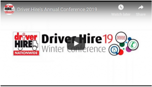 2019 Driver Hire Conference You Tube Screenshot