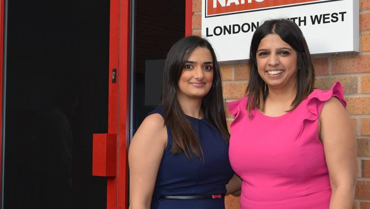 Sandy and Sindy Sohal - Franchisees at Driver Hire London South West