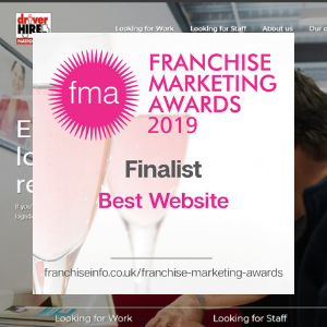 Franchise Marketing Awards 2019 - Best Website Finalist
