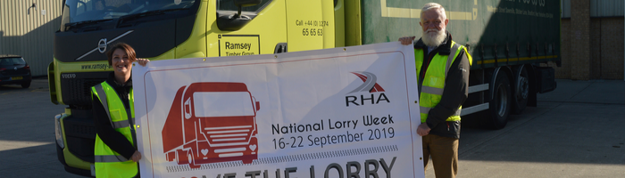 Driver Hire franchisees support National Lorry Week 2019